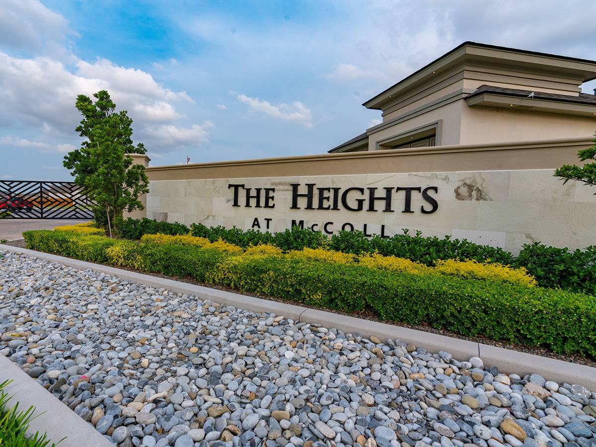 The Heights at McColl entrance